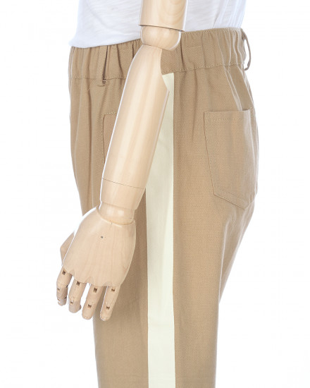 Rasty Stripe Pants in Khaki