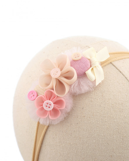 Reva Baby Headband in Pink