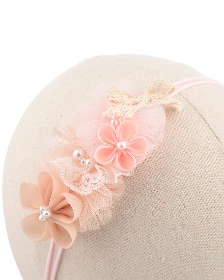 Danica Baby Headband in Orange