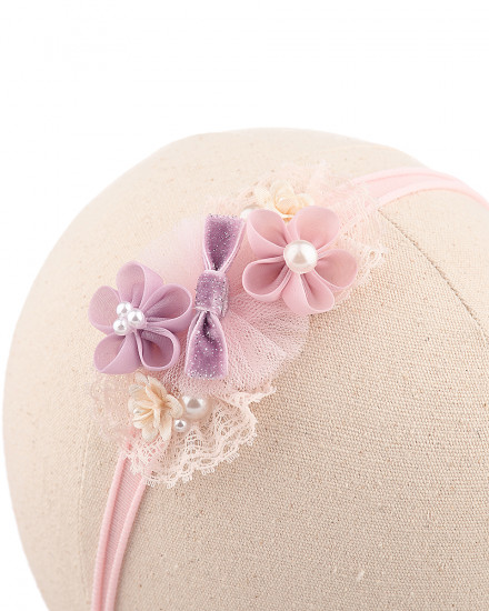 Alda Baby Headband in Purple