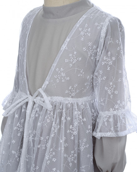 Ayara Lace Outer in White