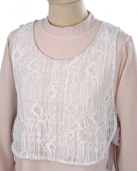 Mirain Tunic in White for Mom