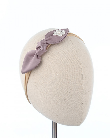 Riana Bow in Mauve