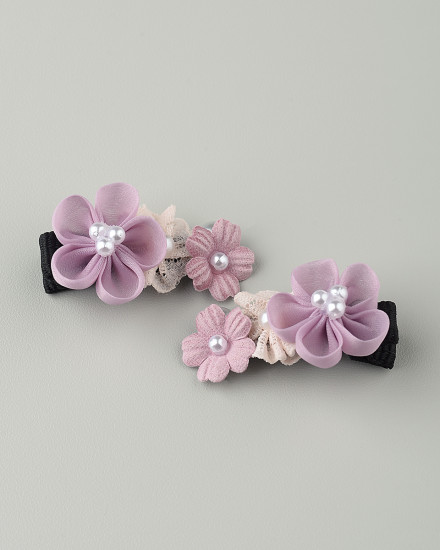 Jana Mini Hairpin in Purple