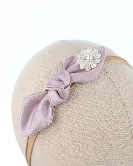 Riana Bow in Lilac