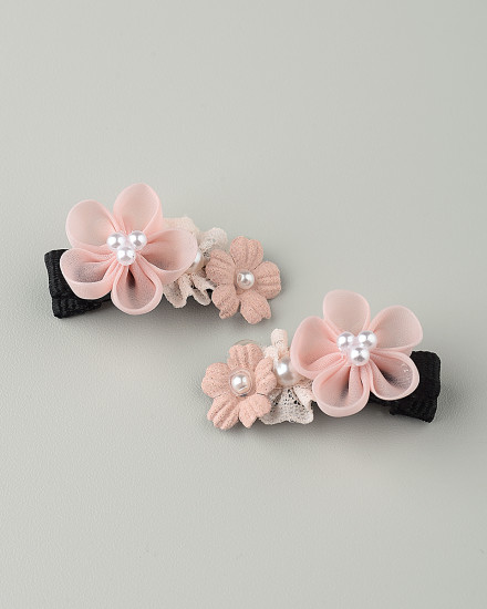 Jana Mini Hairpin in Pink