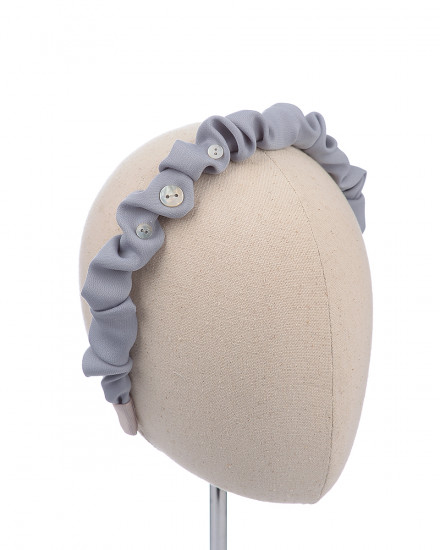 Riffle Headband in Grey
