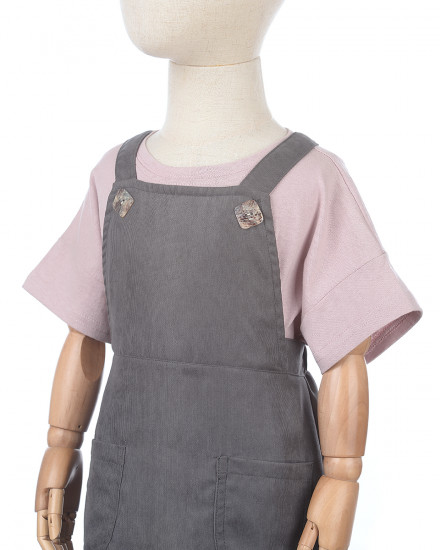 Agatha Overall in Grey