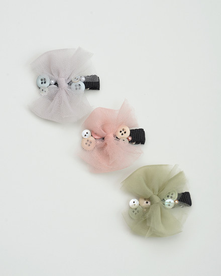 Aurel Hairpin in Blush
