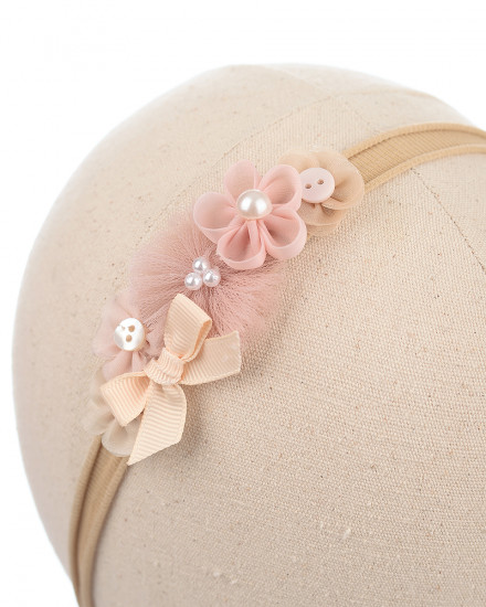 Terra Baby Headband in Blush