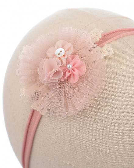 Gail Baby Headband in Apricot