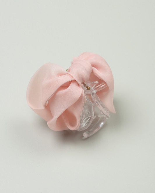 Tiffany Claw Clip in Misty Rose