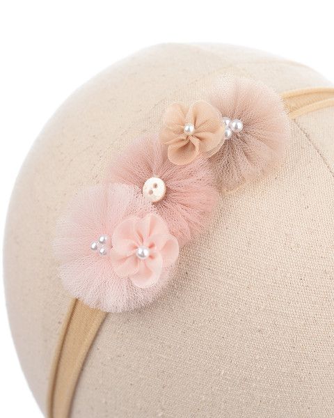 Amber Baby Headband in Blush