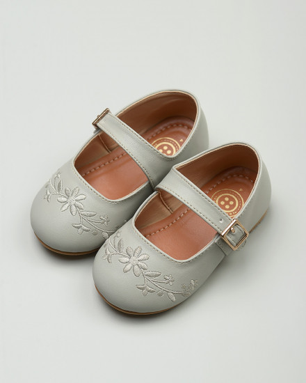 Gazelle Toddler Shoes in Grey