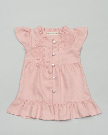 Sui Dress for Baby in Peach