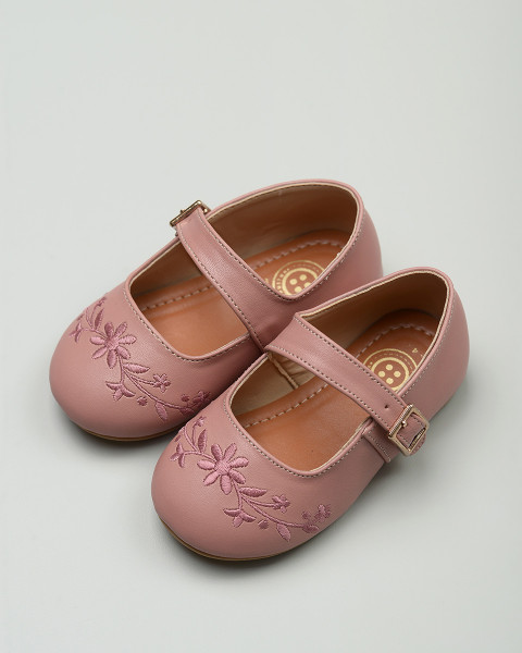 Gazelle Toddler Shoes in Dusty Pink