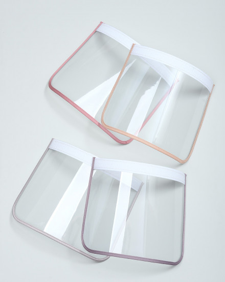 Face Shield Replacement - Pink