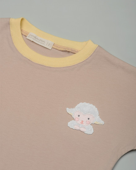 Patch Tee Set - Woolly