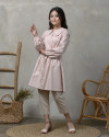 Lady Cellia Collar Tunic in Pink