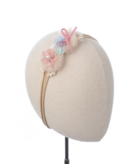 Lisse Baby Headband in Pink