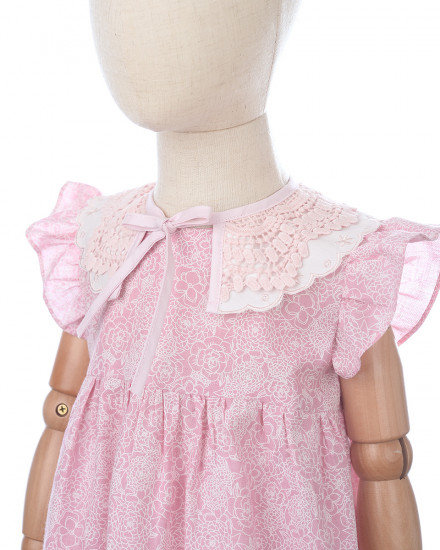 Louvre Baby Set in Pink