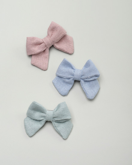 Kyoto Bow Hairpin in Pink