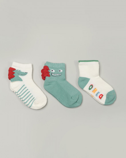 .candybutton. Socks Package - Croco