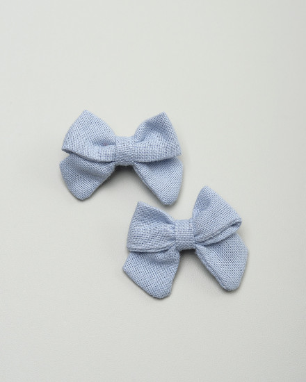 Kyoto Bow Hairpin in Blue