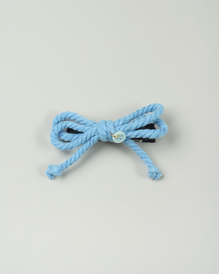Nirvana Bow Hairpin in Blue