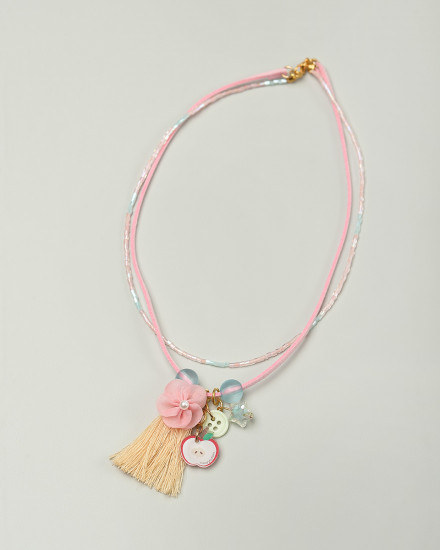 Ambrosia Necklace in Pink