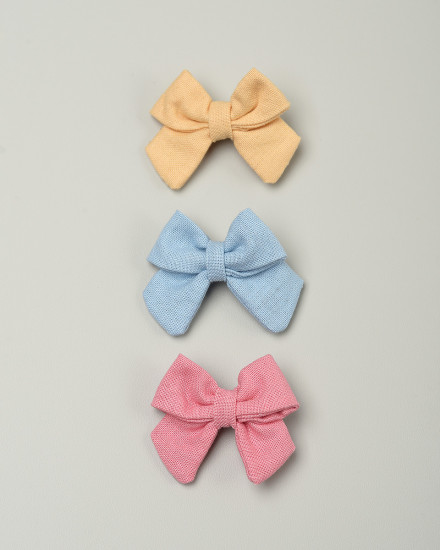 Kyoto Bow Hairpin in Yellow