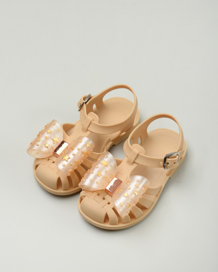 Pippin Jelly Shoes in Yellow