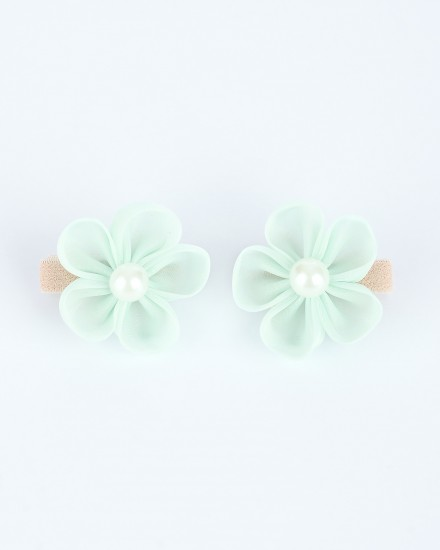 Lulu Mini Hairpin in Green