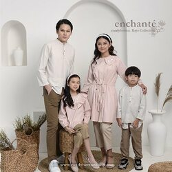 Proudly present our Enchante - Raya Collection 2021 , this year is the first year we create a family collection 😍😍 . Shop at our website using code EID2021 to get IDR 20,000 OFF for FREE SHIPPING until Sunday 18 April 2021 🌟✨💫 . See you at our HQ-Store 🌟✨ . #candybutton #candybuttonshop #rayacollection2021 #bajulebarananak #bajulebarankeluarga
